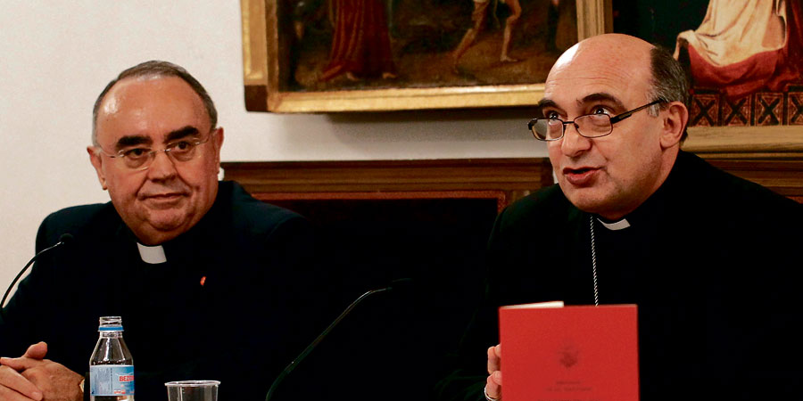 """Mons Benavent: """"Hay valores que han entrado en crisis en la educación"""" El obispo auxiliar presenta el mensaje del Papa de la Jornada por la Paz"""