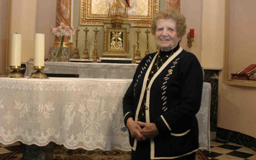 Doña Clotilde, la centenaria de Bicorp, estrella de la COPE Su voz ha sido utilizada en la cuña de publicidad del programa 'La Atalaya'