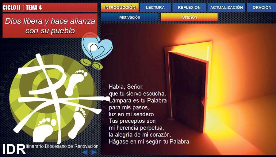 Vídeos 'buenos, bonitos y gratis' para estimular las reuniones del IDR La web de un creativo valenciano incluye presentaciones de libre descarga sobre los temas del Itinerario