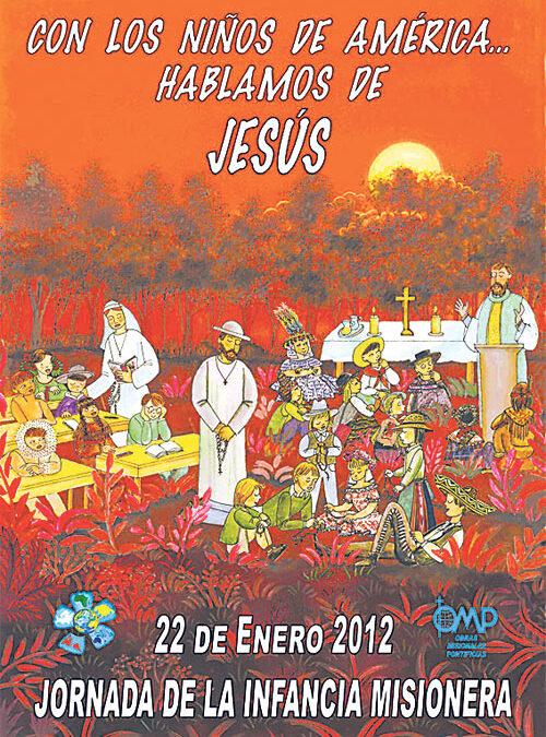 El bienestar de los niños de América, objetivo de la Infancia Misionera en 2012 La jornada se celebra el día 22 bajo el lema 'Con los niños de América... hablamos de Jesús'