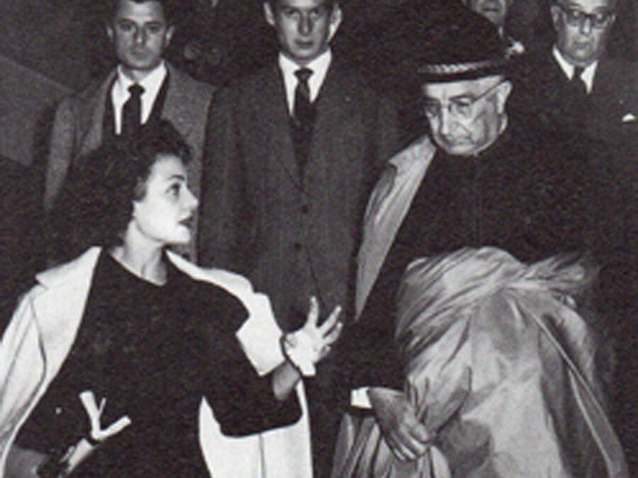 Una foto con historia: don Marcelino Olaechea y Carmen Sevilla  Memorias de un abuelo. Por Rafael Brines.