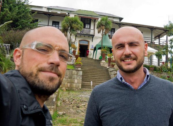 Rumbo a África Dos arquitectos, feligreses de parroquias valencianas, ayudan en Etiopía a construir una escuela
