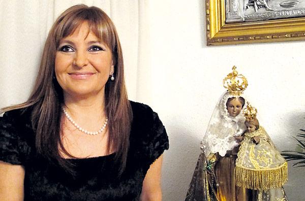 La Real Cofradía de la Murta de Alzira nombra madrina a María José Ferrer
