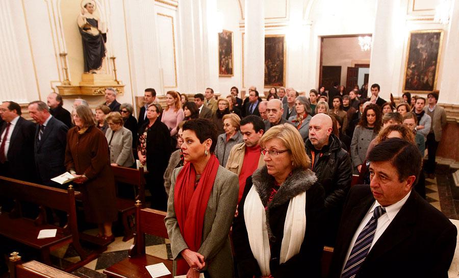 Misa de los periodistas por sus compañeros fallecidos en 2011