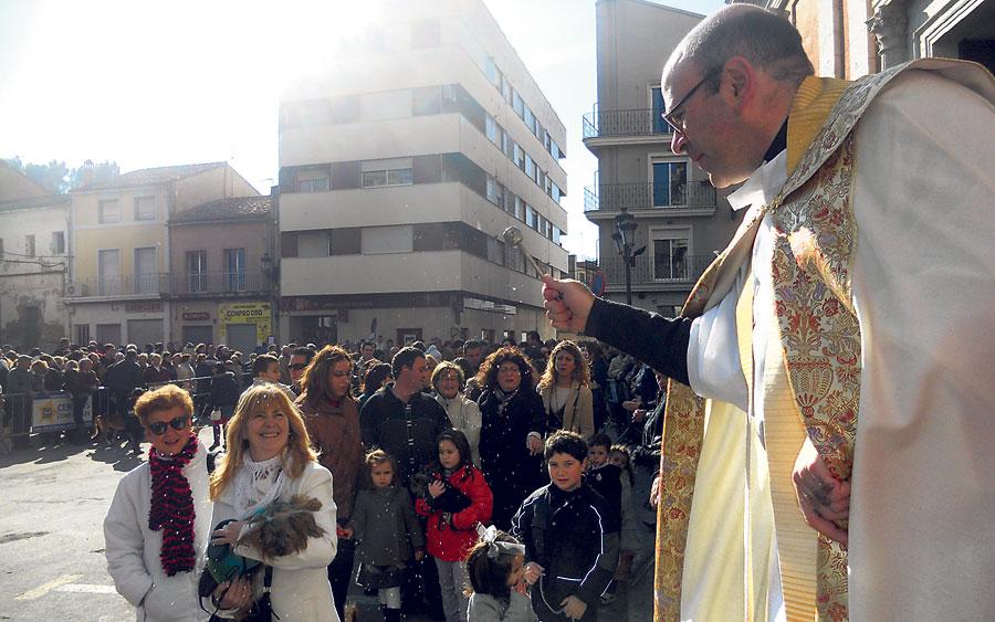 Los animales llenan las calles de la diócesis por San Antonio Abad Un centenar de localidades conmemoran desde esta semana al protector de los animales