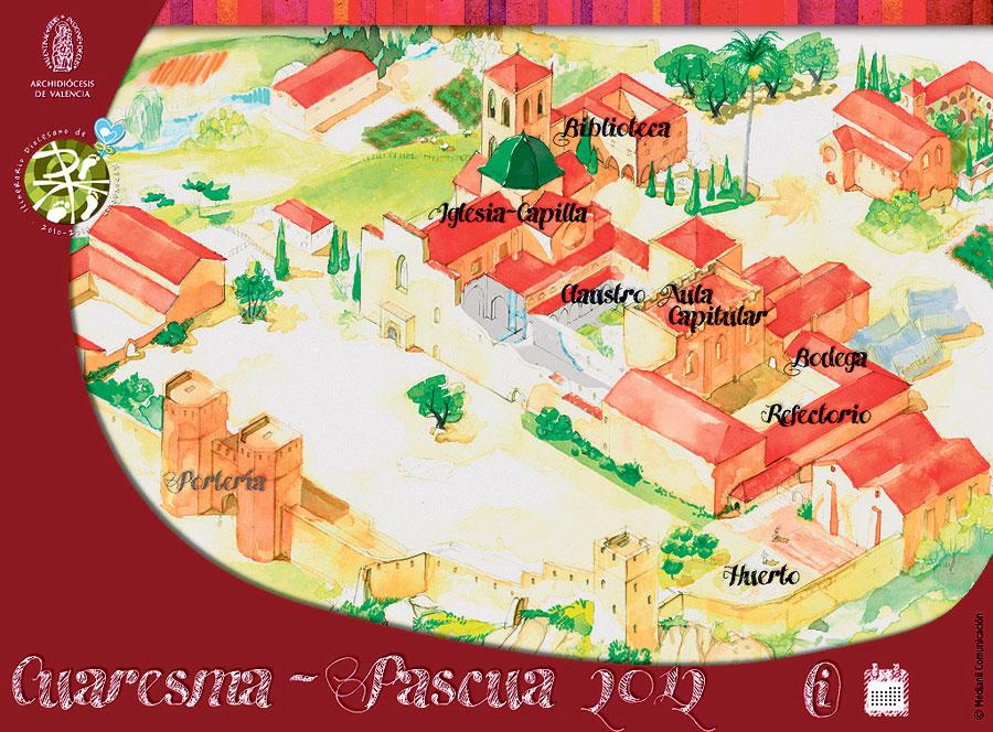 El monasterio virtual e interactivo sigue en marcha en la red también para la Pascua Diseñado por el Arzobispado, ofrece reflexiones y oraciones