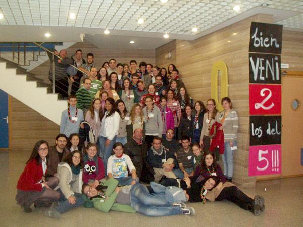 Exitoso I Encuentro de Jóvenes del arciprestazgo Nº5 de Valencia Más de 50 jóvenes participaron en distintos talleres