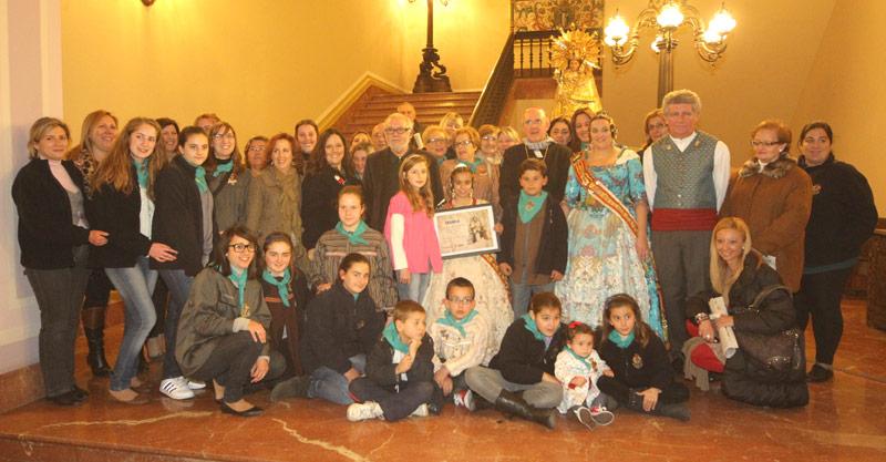 El Arzobispo entrega el premio PARAULA al mejor ninot Las fallas ganadoras de los premios PARAULA al mejor ninot los recogieron de manos de D. Carlos.