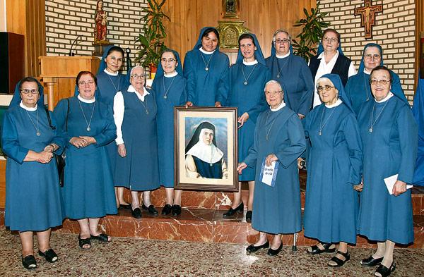 150 aniversario del nacimiento de Juana María Condesa, fundadora de las Esclavas de María Inmaculada En la Casa General de la congregación, sita en la calle Balmes, 27, de Valencia.