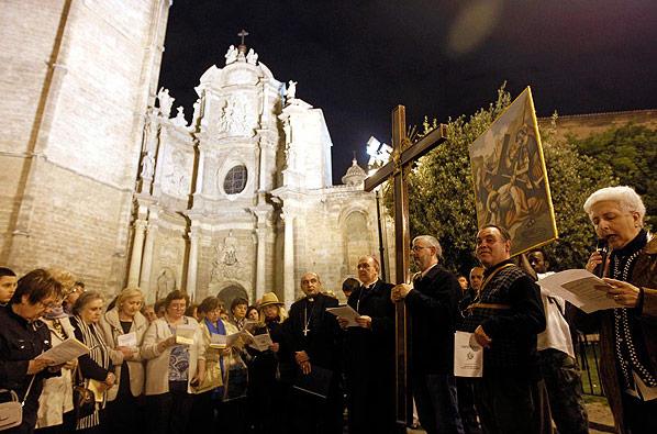 Vía crucis de Ciutat Vella, viernes 30 de marzo Con la participación de Juniors MD, incluirá textos de la JMJ