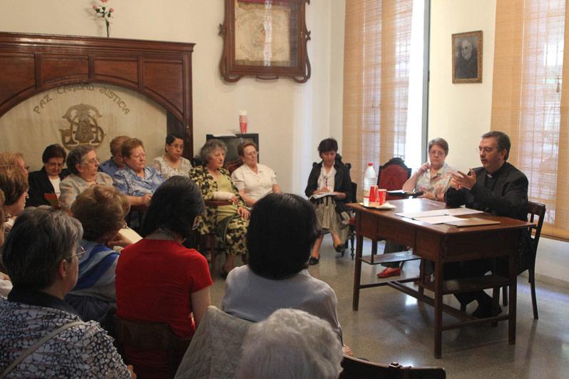 Los institutos seculares de la diócesis celebran su asamblea anual Coincidiendo con la fiesta de la Santísima Trinidad, con la que concluyen las actividades del curso