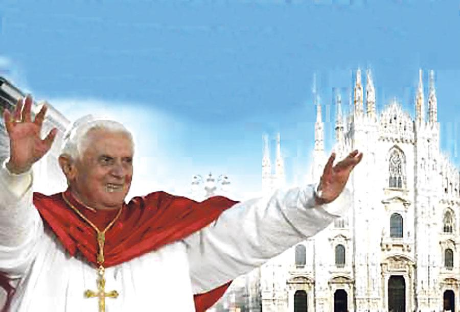 Familias de todo el mundo, con el Papa en Milán Benedicto XVI preside en la ciudad italiana el VII Encuentro Mundial de las Familias con el lema 'La Familia: el trabajo y la fiesta'