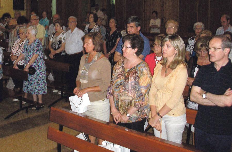 Los grupos de adultos de San Fernando Rey celebran el fin de curso del IDR Setenta personas participan en la celebración de los grupos de formación de adultos en esta parroquia de Valencia