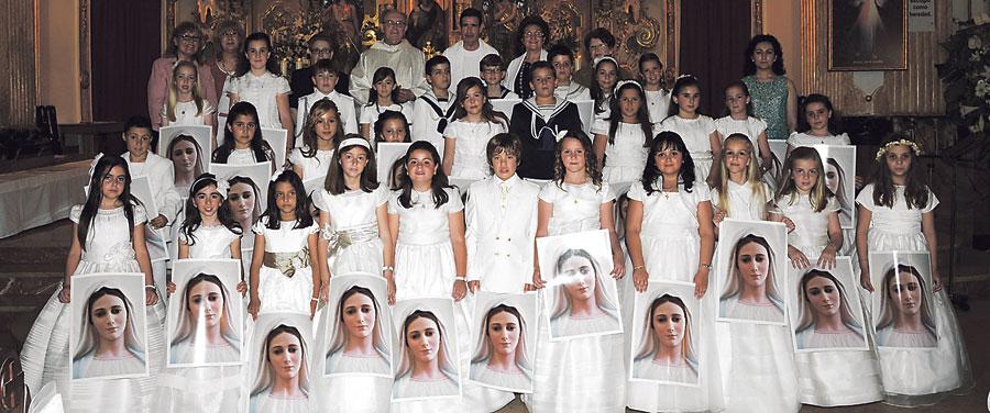 Primeras comuniones en la diócesis Fotos de algunas de las celebraciones de primera comunión que han llegado a nuestra redacción