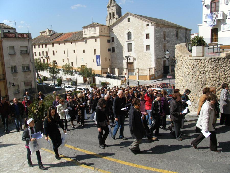 Ontinyent recibe tres días a la Mare de Déu Llegó por el Año Santo Mariano y se celebraron vigilias, misas y procesiones en su honor