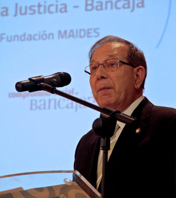 La Fundación MAIDES recibe el XI Premio Fundación por la Justicia-Bancaja Por su labor de acompañamiento y acogida a enfermos mentales y de Sida