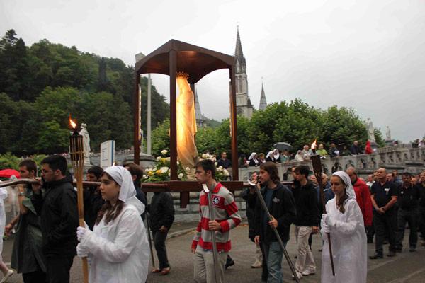 La peregrinación valenciana  a Lourdes, a tope este año Presidida por el Arzobispo, récord en la Hospitalidad