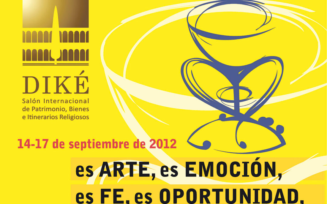 La feria religiosa Diké abre sus puertas en Valencia Por primera vez en Valencia, se celebra el I Salón Internacional de patrimonio, bienes e itinerarios religiosos, Diké.
