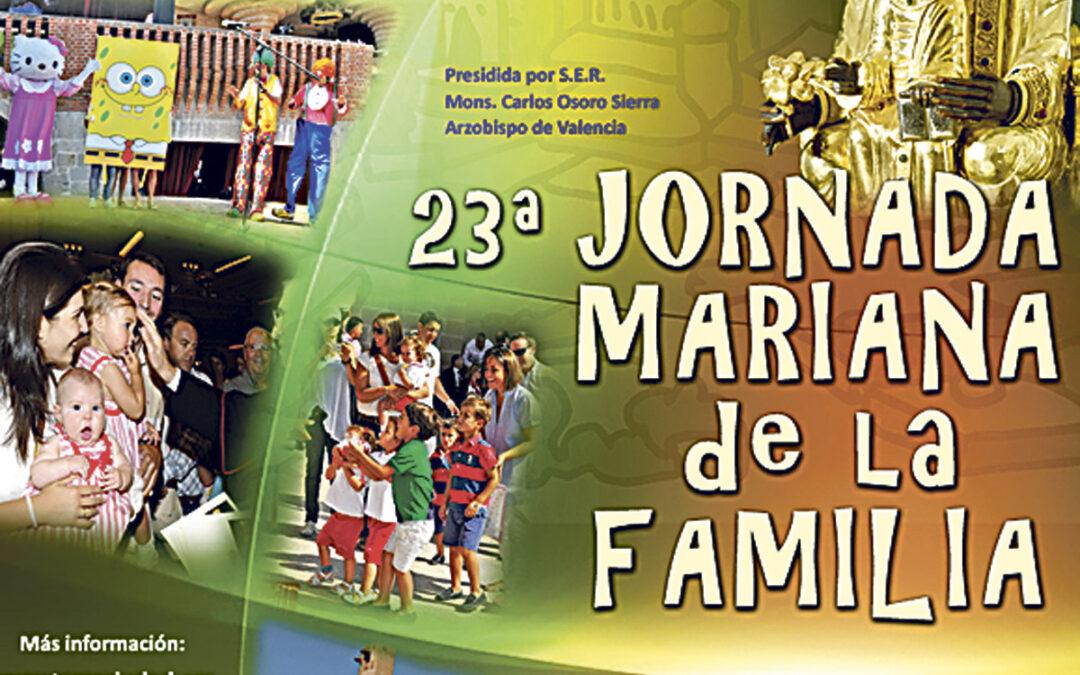 Nutrida presencia valenciana en la Jornada Mariana de la Familia que presidirá monseñor Osoro en Torreciudad Se celebra el día 15 y es el evento más multitudinario de los que acoge el santuario oscense