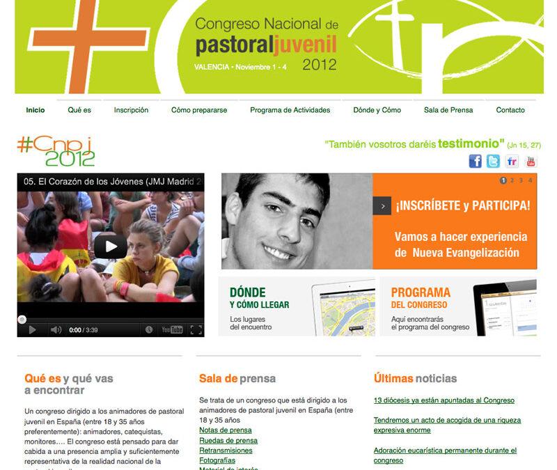 Comienza la cuenta atrás para el Congreso Nacional de Pastoral Juvenil que acogerá Valencia El jueves 1 de noviembre, la plaza de la Virgen será el lugar escogido para dar la  bienvenida a los cerca de 2.000 participantes