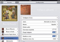 Un profesor valenciano crea aplicaciones de móvil para rezar el Rosario y el Ángelus Las dos aplicaciones, de descarga gratuita, sólo están disponibles para iPhone y iPad.