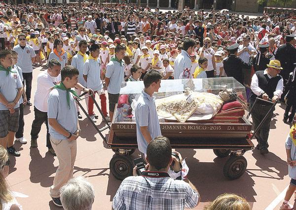 Una reliquia de san Juan Bosco visitará Valencia del 26 al 29 de octubre Irá a los centros salesianos en su recorrido por todo el mundo