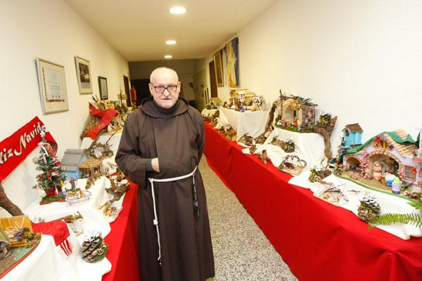Fray Conrado expone 1.300  belenes elaborados con materiales  de desecho Permanecerá abierta hasta el 24 de diciembre