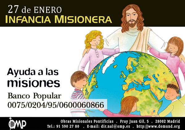 Este domingo, Jornada de Infancia Misionera: 170 años ya en España y celebración en Siete Aguas Bajo el lema 'Con los niños de Europa... acogemos a todos como Jesús'