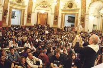 El próximo 1 de febrero, nueva cita de los jóvenes con don Carlos en la Basílica En esta ocasión, los jóvenes de la vicaría 3 serán los encargados de organizarla