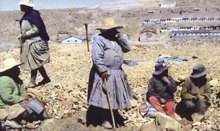 De mineras del estaño, a trabajadoras del textil Un novedoso proyecto para mujeres en Bolivia centrará la presentación de la campaña de 2013 de Manos Unidas de Valencia el próximo día 30, en el Palacio Colomina