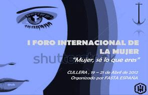 'Mujer, sé lo que eres' Cullera acoge del 19 al 21 de abril el I Foro Internacional de la Mujer