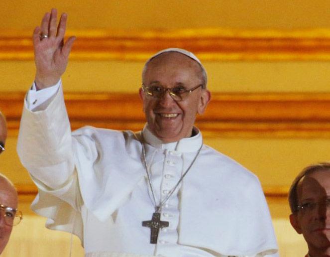 Francisco será el primer papa  hispanoamericano y jesuita La misa de entronización, el próximo martes 19 a las 9:30 horas