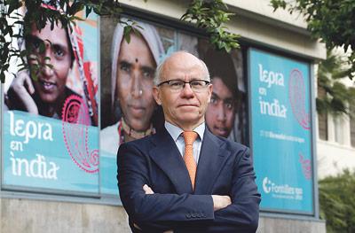 """""""La situación de los enfermos de lepra en los  países no desarrollados es la peor imaginable"""" Entrevista a Ramón Trénor Galindo, nuevo presidente de Fontilles"""