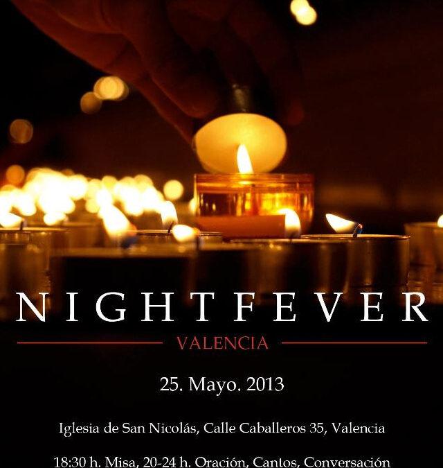 """¿Quieres vivir la """"fiebre"""" del sábado noche? El próximo 25 de mayo la diócesis acoge la 'Nightfever', una iniciativa surgida en la Jornada Mundial de la Juventud de Colonia 2005 y que ya se ha extendido por siete países del mundo"""