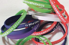 Campaña benéfica a favor de Maides La Corte de la Virgen de los Desamparados pondrá a la venta pulseritas solidarias a un euro
