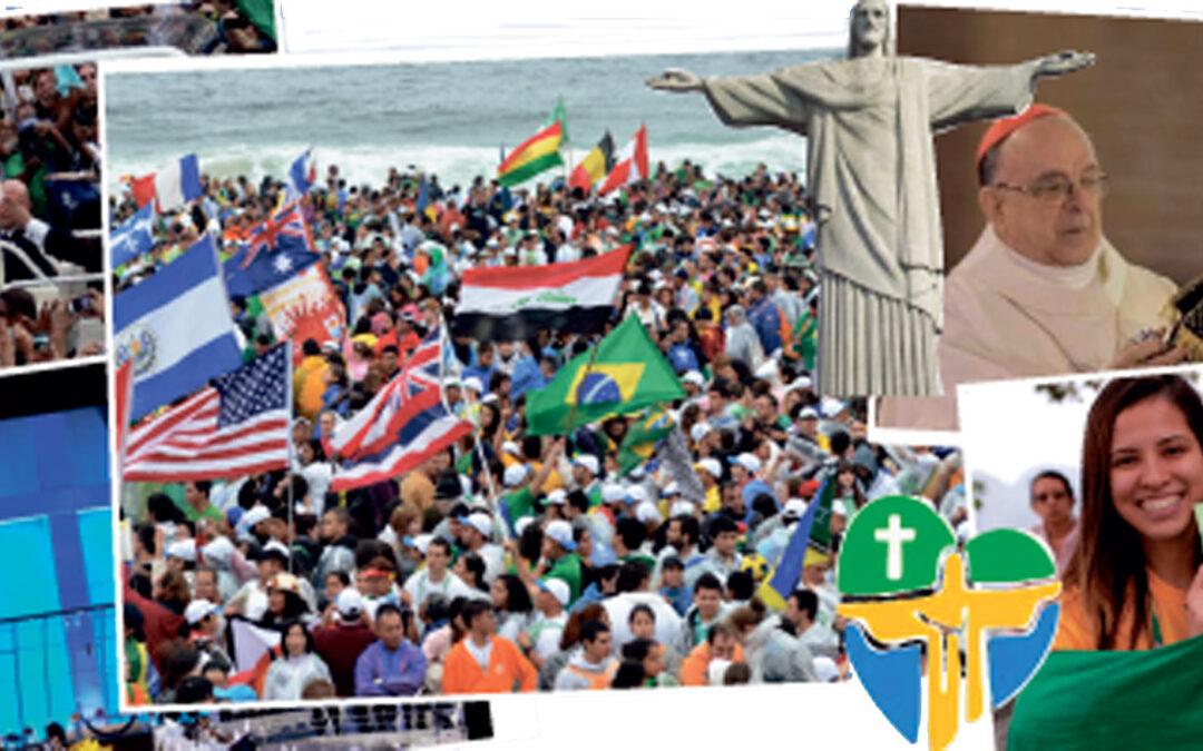 """""""No traigo oro  ni plata, sino lo más valioso,  Jesucristo"""" El papa Francisco llega a Río de Janeiro para vivir los jóvenes la Jornada Mundial de la Juventud. 264 valencianos viven ya plenamente los actos centrales de este encuentro que reúnirá a cerca de dos millones de personas."""