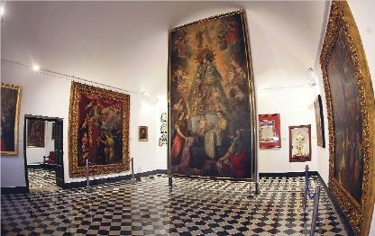 El Museo Mariano de la Basílica cumple dos años  de su apertura tras haber recibido 13.000 visitantes Recoge el patrimonio y cerca de 400 obras de arte que se conservan en torno a la Patrona