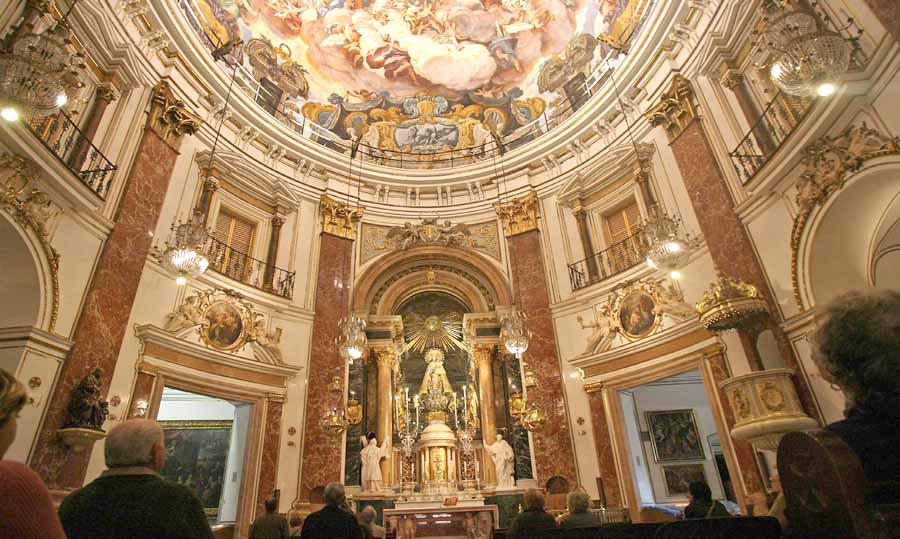 La Basílica de la Virgen 'cumple' 350 años e invita a conocer su historia Los días 21 y 22 de diciembre con dos conferencias, un acto conmemorativo y un concierto de Navidad con la Escolanía