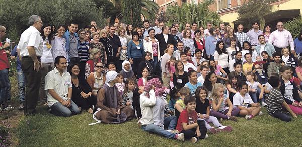 Más de 200 personas, en el encuentro de  familias de Renovación Carismática Católica