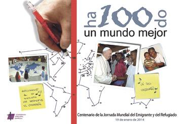 Jornada Mundial del Emigrante y Refugiado, este domingo, día 19 La iglesia de Santa Catalina de Valencia acogerá una misa este domingo 19, a las 17 horas