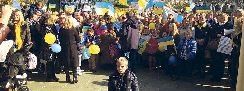 Ucranianos en Valencia rezan por la paz ante las amenazas a la Iglesia católica en su país Este fin de semana, en el monasterio de la Trinidad y en Guadassuar