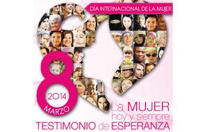 'La mujer y su testimonio de esperanza hoy y siempre', el próximo 8 en Valencia Para celebrar el Día Internacional de la Mujer, jornada en la UCV
