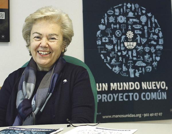 """""""Podemos ser igual de felices o más sin consumir de manera desaforada """" Entrevista a Soledad Suárez, presidenta nacional de Manos Unidas"""