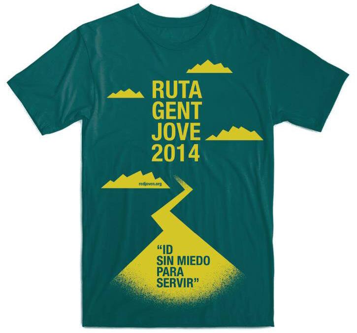 Apúntate a la Ruta Gent Jove y consigue esta camiseta Será el 4 y 5 de abril y recorrerá el valle de La Murta