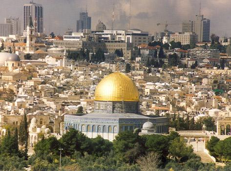 """El Papa llama a la paz en Tierra Santa y pide que se preserve Jerusalén """"como ciudad santa"""" Francisco pide el compromiso de todos para respetar el 'status quo' de la ciudad"""