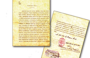 Hallan en la parroquia de Gavarda, el documento original  del patronazgo canónico de San Vicente Ferrer en la localidad En nombre del papa Pío XI, firmado en el Vaticano el 2 de febrero de 1926