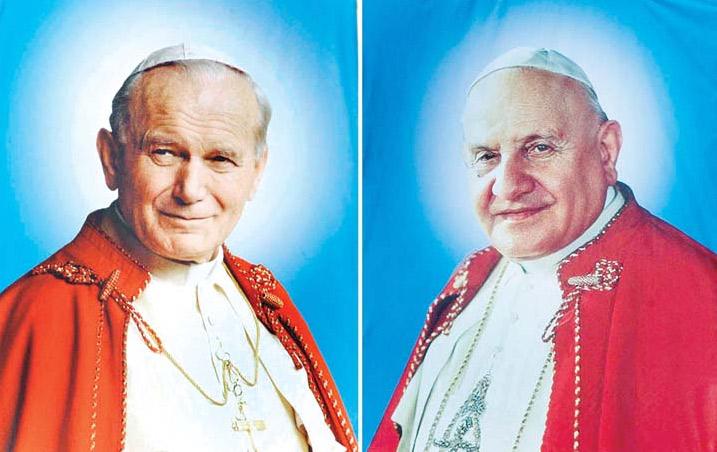 Homilía del papa Francisco en la solemne misa de canonización  Juan XXIII y Juan Pablo II, santos