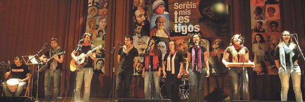 Los santos, también al escenario XXXV Festival de la Canción Vocacional