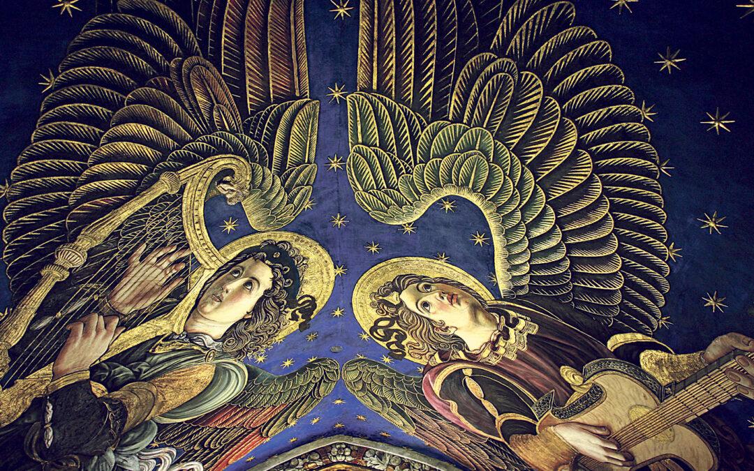 Los ángeles renacentistas de la Seo 'cumplen' diez años Una exposición y un congreso en Valencia conmemorarán su hallazgo tras permanecer más de 300 años ocultos