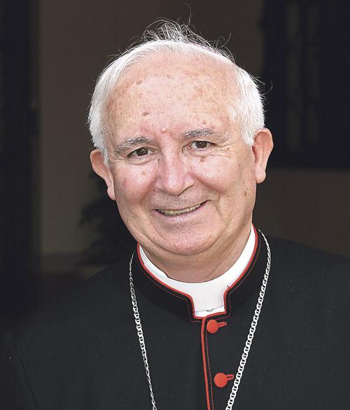 """""""Un hombre bueno, bueno de verdad"""" Mons. Osoro, sobre su sucesor al frente de la archidiócesis, en la apertura del curso de la Facultad de Teología de Valencia"""